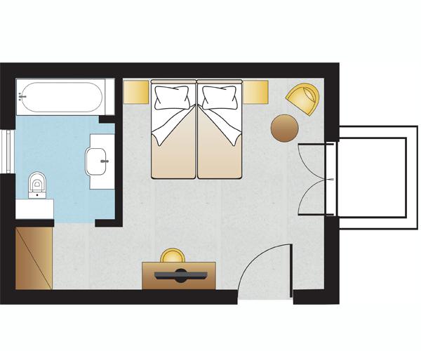 Bungalows Floorplan