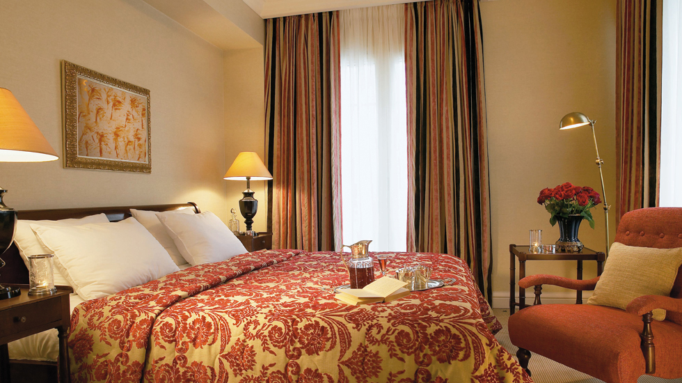 Presidential Suite | Decorated in warm neutrals, luxurious silks and handmade furniture