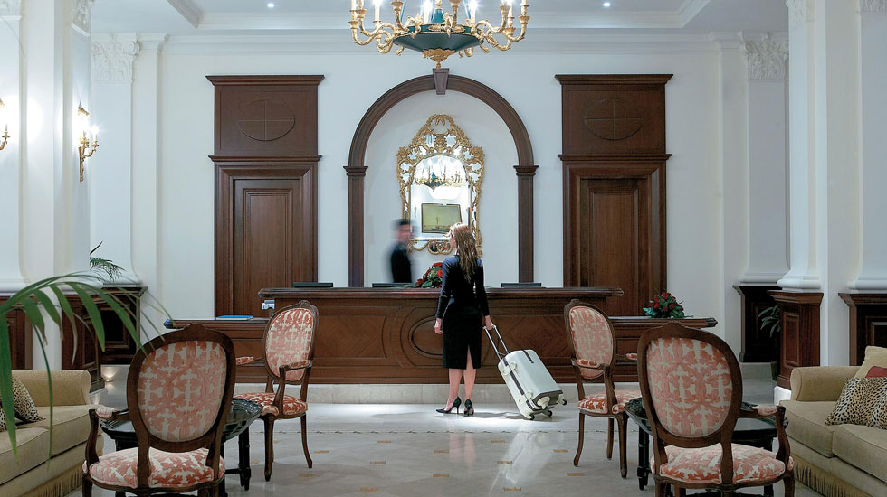 The luxurious Larissa Imperial is favoured by business and leisure visitors